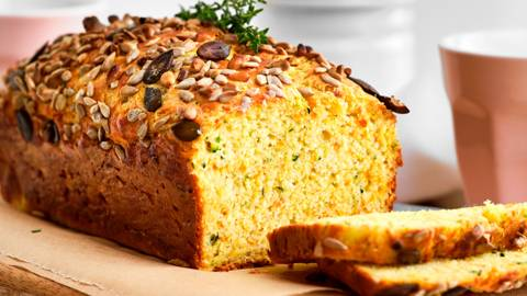 Krokant courgette-wortelbrood