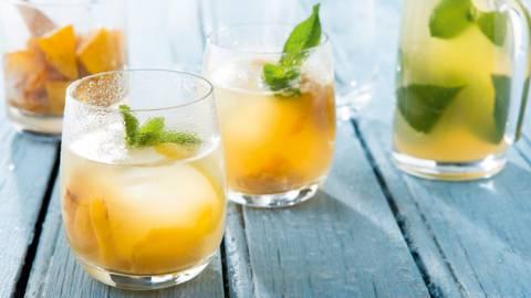 Citroen-ananaslimonade