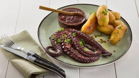 Octopus op klassieke wijze