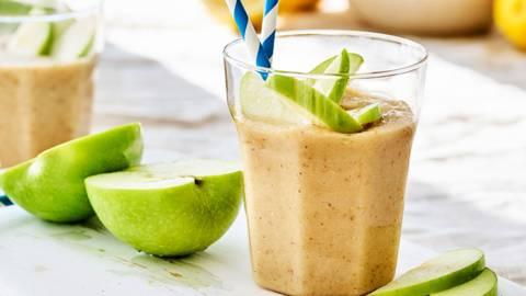 Warme apple pie-smoothie