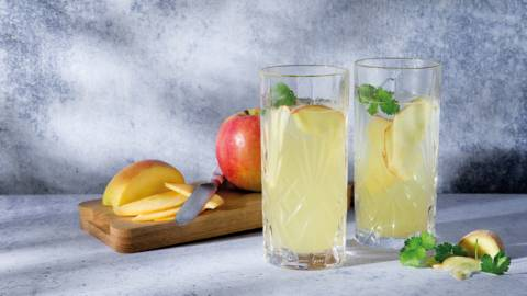Appel-gembermocktail