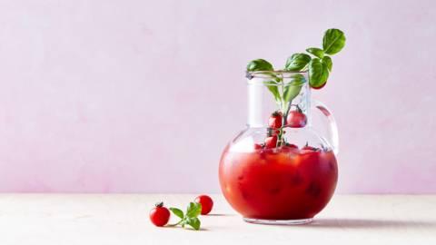 Tomatensap met vermout