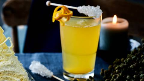 Warme theecocktail met gin