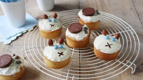 Katten- en hondenmuffins