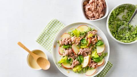 Broccolicouscous met tonijn