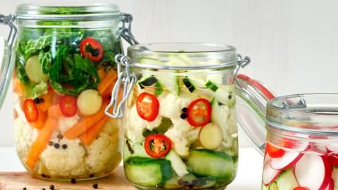 Gefermenteerde groenten