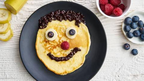 Face pancakes