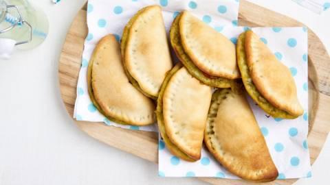 Empanadas caprese