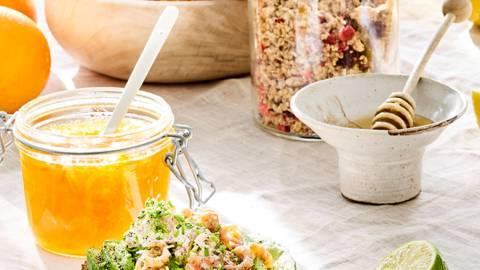 Huisgemaakte sinaasappelmarmelade