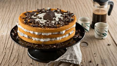 Cheesecake met Neo-koekjes