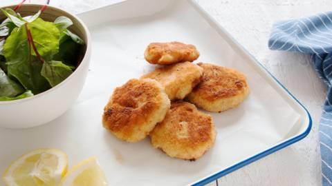 Zalm-aardappelkoekjes