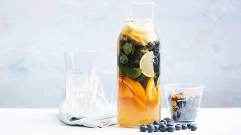 Fruitige verse limonade