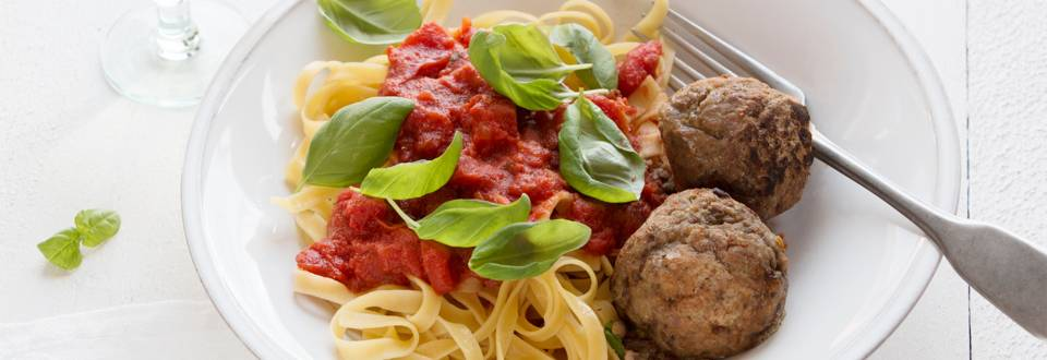 Spaghetti met surprise