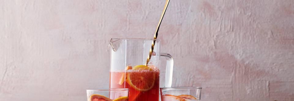 Winterse citrussangria