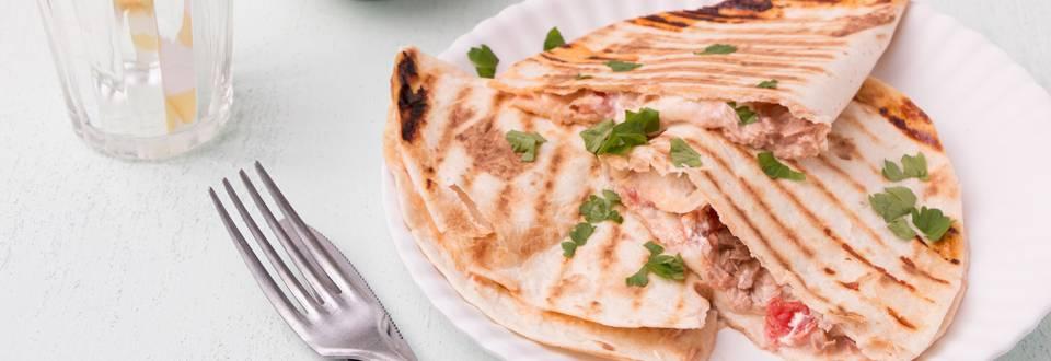 Quesadilla's met tonijn