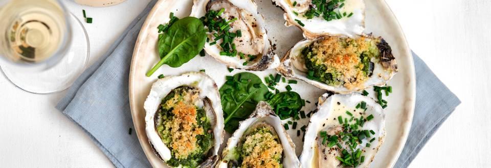Feestelijke oesters op 2 wijzen