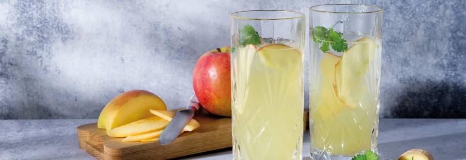 Appel-gembermocktail