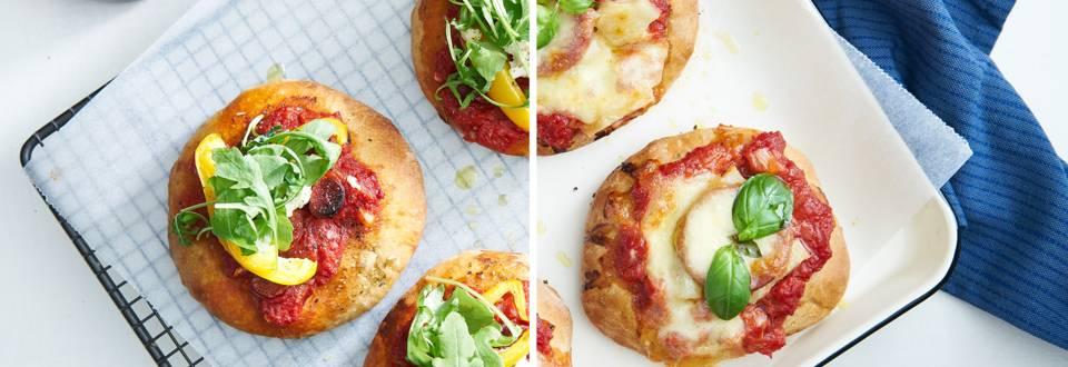 Kidsproof pizzette