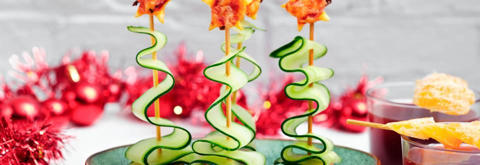 Eetbaar kerstboompje met mandarijnenpunch_main_play