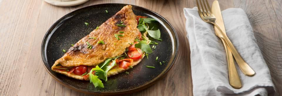 Omelet met chorizo