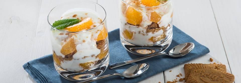 Trifle met mandarijntjes